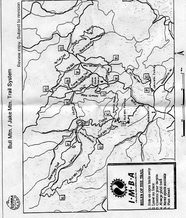 Georgia Road And Trail Maps